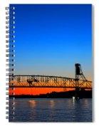 Burlington Bristol Bridge Spiral Notebook