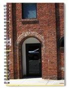 Burlington North Carolina - Brick Entrance Spiral Notebook
