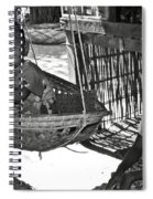 Burmese Mother And Son Spiral Notebook