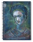 Burn It Blue Frida Spiral Notebook
