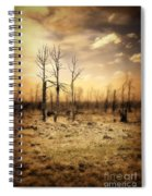 Burned Out Forest Spiral Notebook