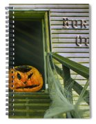 Burned Out - Halloween Spiral Notebook