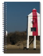 Burnham-on-sea Lighthouses Spiral Notebook
