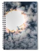 Burning Atmosphere  Spiral Notebook