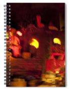 Burning City Spiral Notebook