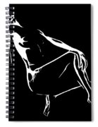 Burning Desire Spiral Notebook