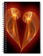 Burning Love Spiral Notebook