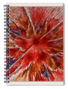 Burning Passion Of Love Spiral Notebook