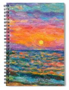 Burning Shore Spiral Notebook