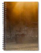 Burning Through The Fog Spiral Notebook