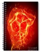 Burning Up  Spiral Notebook