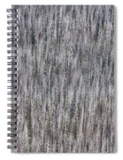 Burnt Trees Abstract Spiral Notebook
