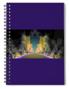 Burst Out Buildings Spiral Notebook