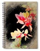Bursting Magnolias Spiral Notebook
