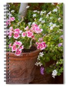 Bursting With Blooms Spiral Notebook