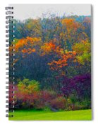 Bursting With Color 1 Spiral Notebook