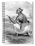 Burton Amazon Soldier Spiral Notebook