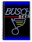 Busch And The Blues Edited Spiral Notebook