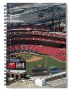 Busch Memorial Stadium Spiral Notebook