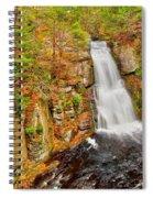 Bushkill Falls Pa Spiral Notebook