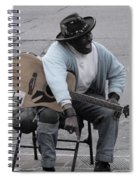 Busker With Style Spiral Notebook