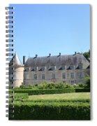 Bussy - Rabutin Palace Garden  Spiral Notebook
