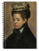 Bust Of A Woman Spiral Notebook