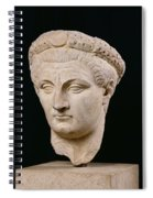 Bust Of Emperor Claudius Spiral Notebook