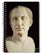 Bust Of Julius Caesar Spiral Notebook