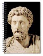 Bust Of Marcus Aurelius Spiral Notebook