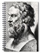 Bust Of Plato  Spiral Notebook