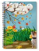 Buster And The Tree Spiral Notebook