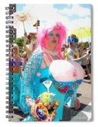 Busty Mermaid Spiral Notebook