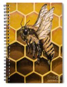 Busy As A Bee Spiral Notebook