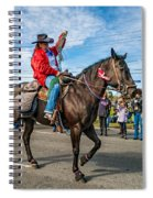 Busy Cowgirl Spiral Notebook