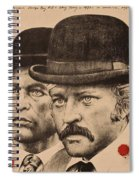 Butch Cassidy And The Sundance Kid Spiral Notebook