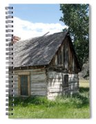 Butch Cassidy Childhood Home Spiral Notebook