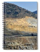 Butte Berkeley Pit Mine Spiral Notebook