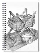 Butter Churn Circa 1822 Spiral Notebook