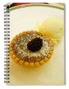 Butter Tart With Ice Cream Spiral Notebook