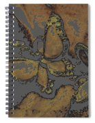 Butterflies 1 Spiral Notebook