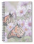 Butterflies And Bee Spiral Notebook