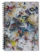 Butterflies And Dragonflies Spiral Notebook