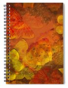 Butterfly Abstract 2 Spiral Notebook