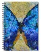 Butterfly Art - D11bb Spiral Notebook
