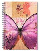 Butterfly Art - Sr51a Spiral Notebook
