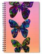 Butterfly Collage IIII Spiral Notebook