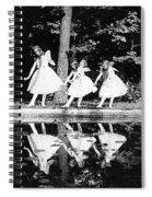 Butterfly Dance, 1920 Spiral Notebook
