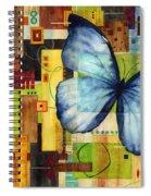 Butterfly Effect Spiral Notebook