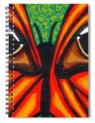 Butterfly Eyes Spiral Notebook